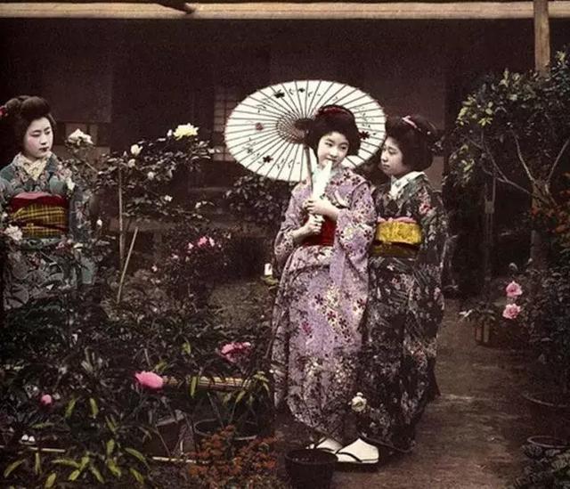 日本的艺伎妆,和唐朝妆容是否有关联?