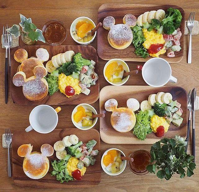 """日本食堂   日本一主妇分享""""教科书级别""""的早餐,看图都馋哭了!"""