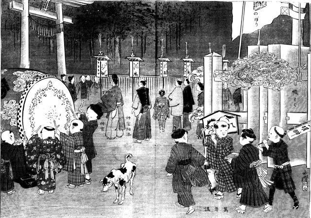 """武士与""""犬追物"""":狗在日本文化中的地位与作用"""