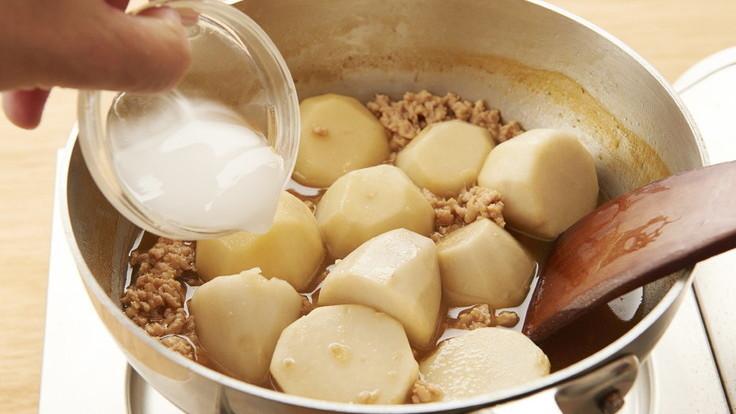 芋头煮鸡肉米