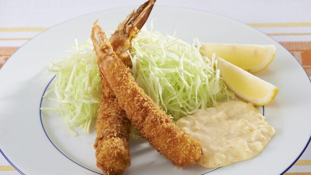 日式面拖虾