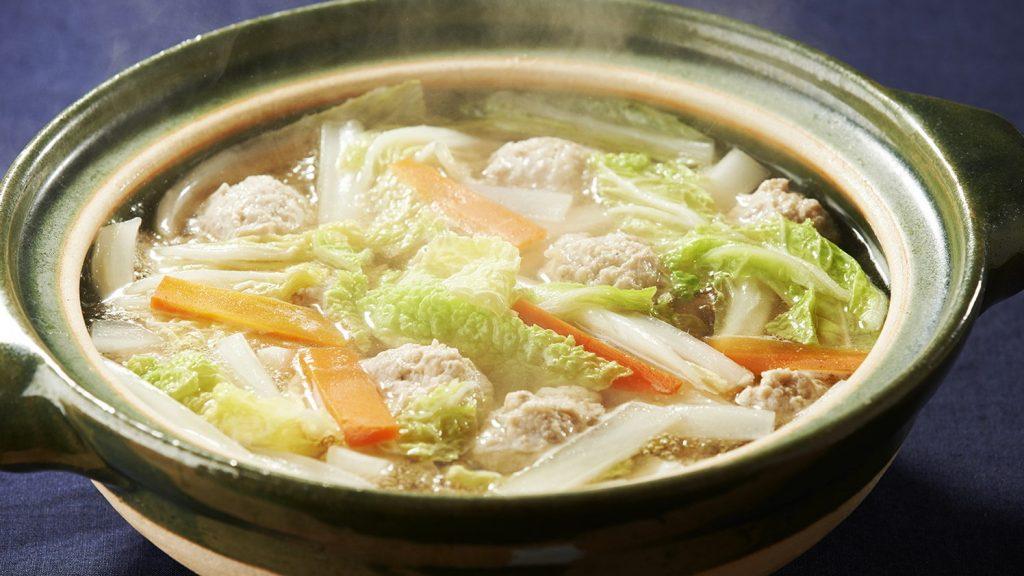 鸡肉丸子砂锅