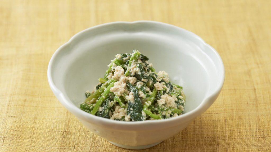 豆腐凉拌菠菜