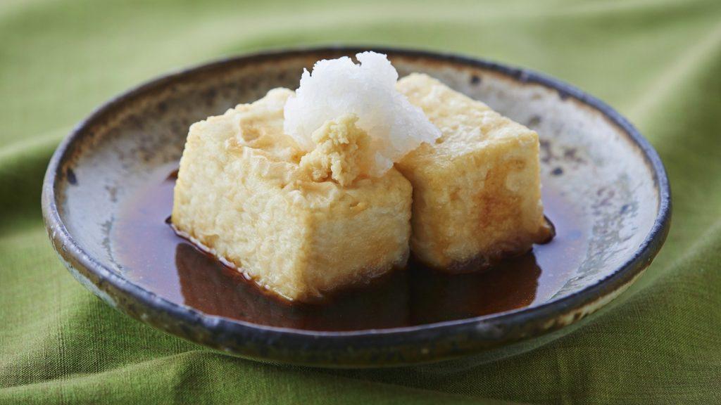 日式油炸豆腐