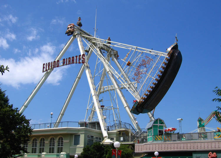 到「丰岛园」一睹110年历史的旋转木马、渡过美式风情的秋季吧!