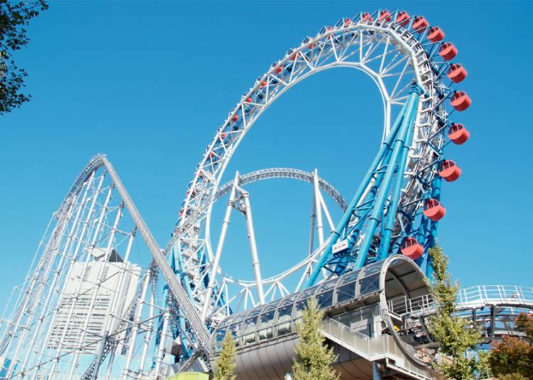 世界首创卡拉OK摩天轮「东京巨蛋城游乐园」