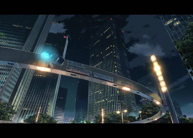 ⑤ 新宿警察署背面十字路口