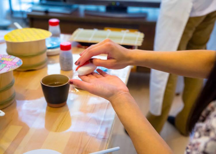 手握寿司的制作难度