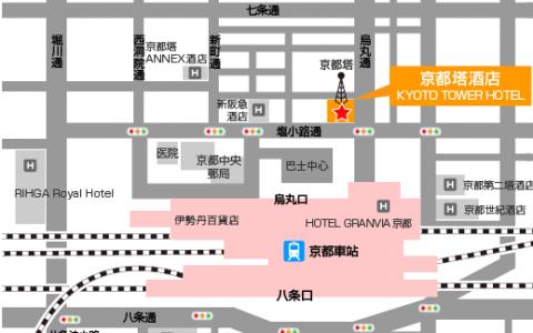 日本京都区域分布