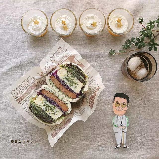 日本一妹子做的饭团在ins引起热潮,这画风...