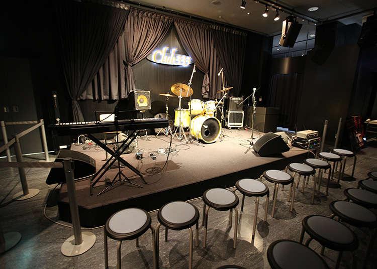在东京塔你能和音乐相约。