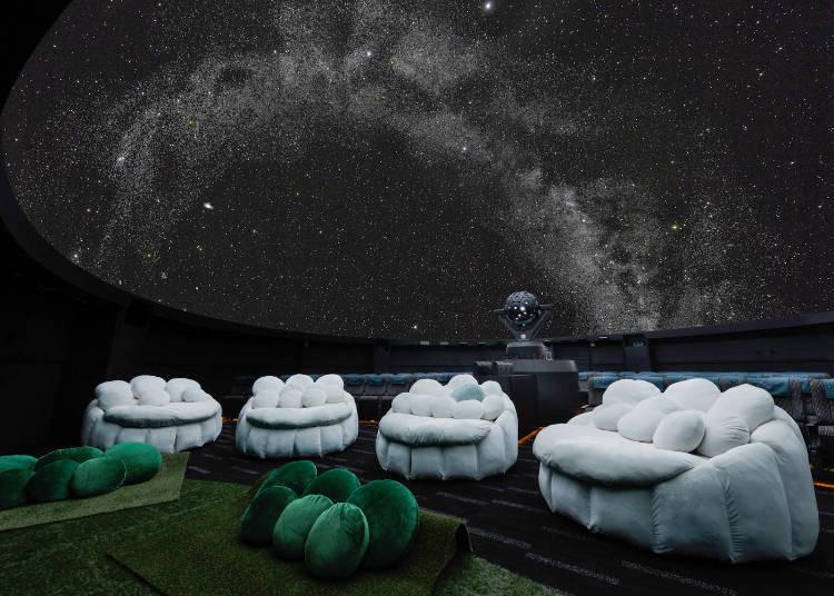 躺着仰望满天星空