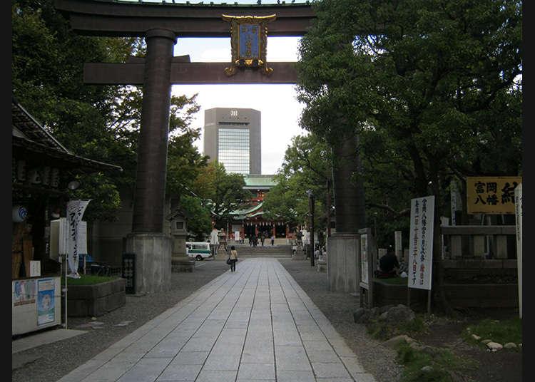 2:富冈八幡宫