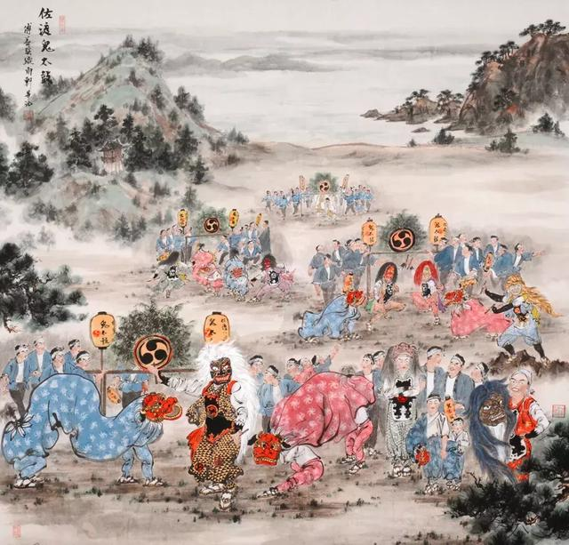 """中国丹青""""走红""""日本文化奥运会"""