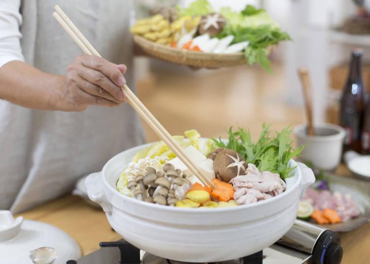 品尝一下日本的炖煮料理·日式火锅吧