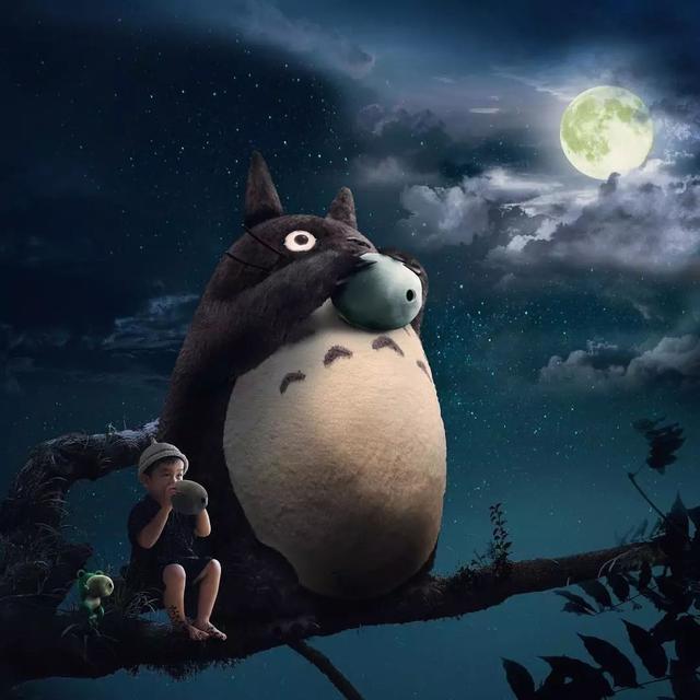 """日本妈妈跟拍3年,为4岁儿子打造""""宫崎骏世界"""",美哭无数人"""