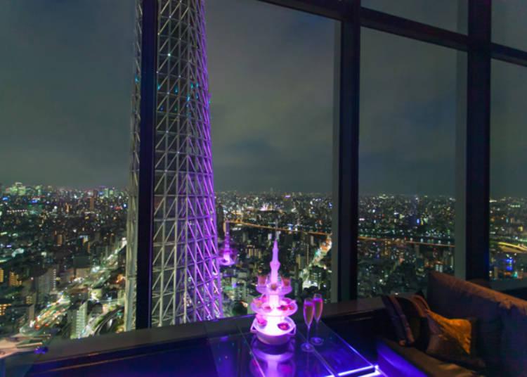 独占东京的夜景