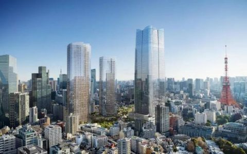 耗资400亿联手设计鬼才,建造东京的城市中心