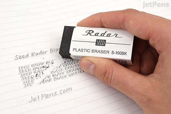 日本出了一款全透明橡皮擦,让你一擦一个准