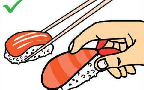 日本寿司大师教你「寿司的正确吃法」