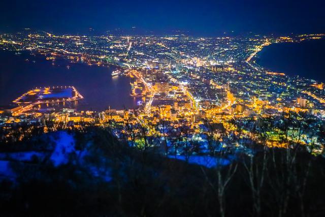 世界三大夜景之一在日本,不是东京也不是大阪,而是一座小城