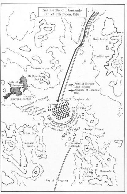 闲山岛之战